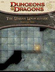 Dungeons and Dragons RPG - The Urban Underdark (Dungeon Tiles)