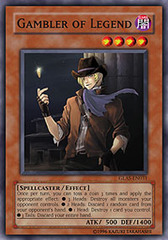 Gambler of Legend - GLAS-EN031 - Common - 1st Edition