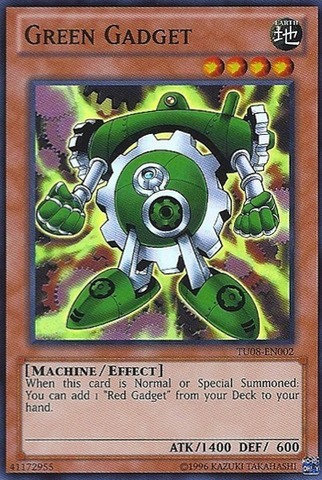 Green Gadget - TU08-EN002 - Super Rare - Unlimited Edition
