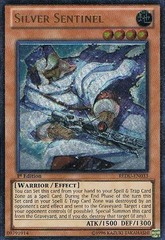 Silver Sentinel - REDU-EN033 - Ultimate Rare - 1st Edition
