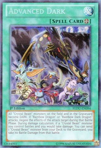 Advanced Dark - REDU-EN094 - Secret Rare - 1st Edition