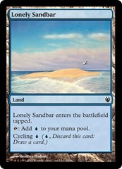 Lonely Sandbar on Channel Fireball