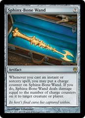 Sphinx-Bone Wand on Channel Fireball