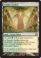Temple Garden - Foil on Channel Fireball