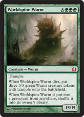 Worldspine Wurm - Foil on Channel Fireball