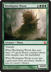 Worldspine Wurm - Foil