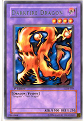 Darkfire Dragon - LOB-019 - Rare - 1st Edition