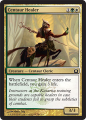 Centaur Healer - Foil on Channel Fireball