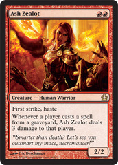 Ash Zealot - Foil on Channel Fireball