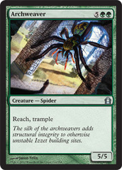 Archweaver - Foil on Channel Fireball