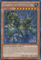 Grandsoil the Elemental Lord - REDU-EN038 - Secret Rare - Unlimited Edition