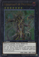 Hierophant of Prophecy - REDU-EN045 - Ultimate Rare - Unlimited Edition