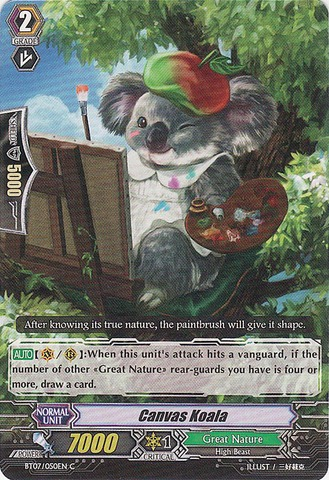 Canvas Koala - BT07/050EN - C