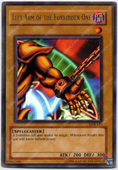Left Arm of the Forbidden One - LOB-123 - Ultra Rare - 1st Edition