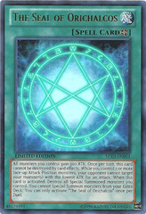 The Seal of Orichalcos - LC03-EN001 - Ultra Rare - Limited Edition