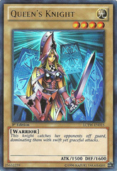 Queen's Knight - LCYW-EN015 - Ultra Rare - 1st Edition