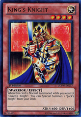 King's Knight - LCYW-EN017 - Ultra Rare - 1st Edition