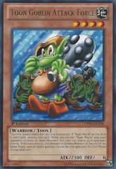 Toon Goblin Attack Force - LCYW-EN108 - Rare - 1st Edition