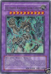 Ultimate Ancient Gear Golem - LODT-EN043 - Ultra Rare - 1st Edition