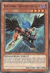 Blackwing - Zephyros the Elite - BP01-EN215 - Starfoil Rare - Unlimited Edition