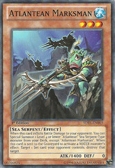 Atlantean Marksman - SDRE-EN003 - Common - 1st Edition