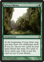 Sylvan Library - Foil on Channel Fireball
