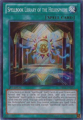 Spellbook Library of the Heliosphere - ABYR-EN087 - Secret Rare - 1st Edition