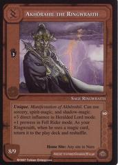 Akhorahil the Ringwraith