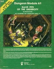 AD&D: A1 Slave Pits of the Undercity 9039