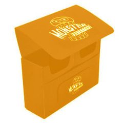 Monster Deck Box: Double Matte Orange