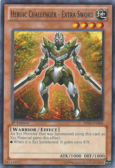Heroic Challenger - Extra Sword - ABYR-EN008 - Common - Unlimited Edition