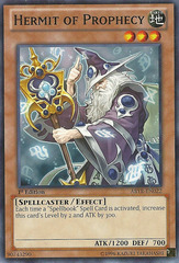 Hermit of Prophecy - ABYR-EN022 - Common - Unlimited Edition