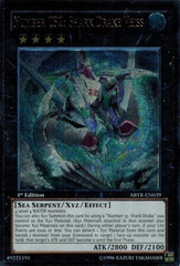 Number C32: Shark Drake Veiss - ABYR-EN039 - Ultimate Rare - Unlimited Edition