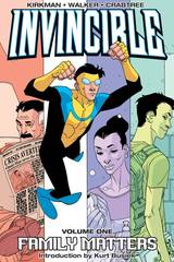Invincible Trade Paperback Vol 01 Family Matters