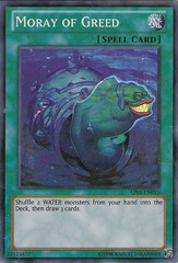 Moray of Greed - AP01-EN010 - Super Rare - Unlimited Edition