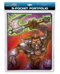 9-Pocket War Beast Portfolio by Monte Moore