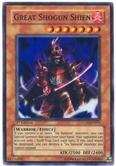 Great Shogun Shien - STON-EN013 - Super Rare - 1st Edition