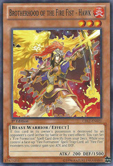 Brotherhood of the Fire Fist - Hawk - CBLZ-EN021 - Common - 1st Edition