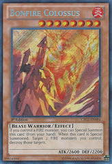 Bonfire Colossus - CBLZ-EN084 - Secret Rare - 1st Edition on Channel Fireball