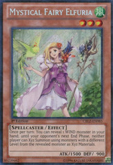 Mystical Fairy Elfuria - CBLZ-EN085 - Secret Rare - 1st Edition