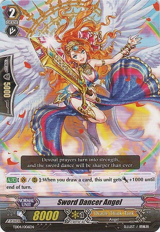 Sword Dancer Angel - TD04/006EN