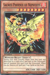 Sacred Phoenix of Nephthys - SDOK-EN004 - Common - 1st Edition