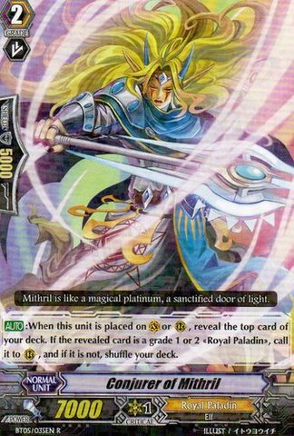 Conjurer of Mithril - BT05/035EN - R
