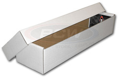 800 Count Storage Box with lid (2 Pieces)