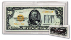Deluxe Currency Slab - Large Bill