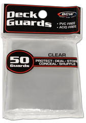 Deck Guards BCW Clear Double-Matte Standard-Sized Sleeves (50 ct)