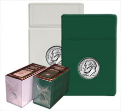 Dime Coin Display Slab Foam Inserts - Colored