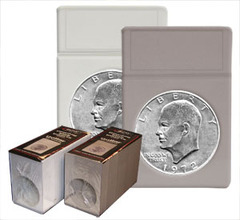 Dollar Coin Display Slab Foam Inserts - Colored
