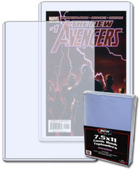 7.5 X 11 X 5 mm - Comic Book Topload Holder
