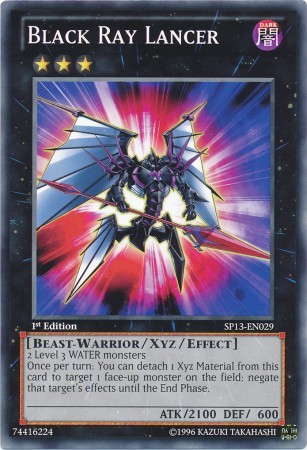 Black Ray Lancer - SP13-EN029 - Common - 1st Edition